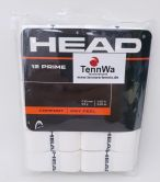 HEAD Prime Overgrip weiß, 12er Pack