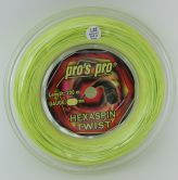 Pros Pro Hexaspin Twist lime 200m